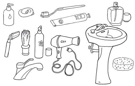 oggetti  disegni  bambini da colorare