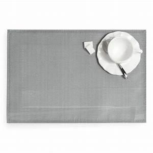 Set De Table Argenté : set de table cybercaf argent maisons du monde ~ Teatrodelosmanantiales.com Idées de Décoration