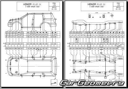 car repair manuals download 2008 honda pilot seat position control размеры кузова honda pilot 2003 2008 body repair manual