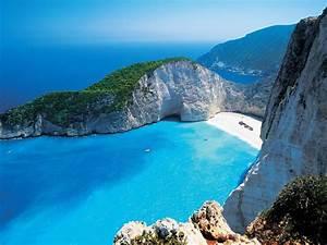 Greek, Island, Greece, Beach, Sea, Zakynthos, Shipwreck
