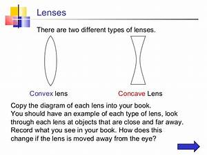 Ray Diagram Lenses Ppt