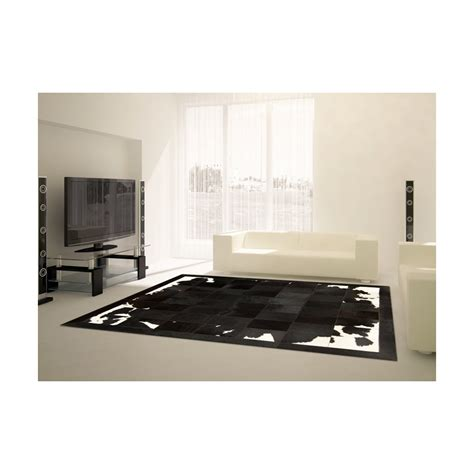 Patchwork Cowhide Rug Ikea by Patchwork Cowhide Black Brown White Leather Carpet Rug