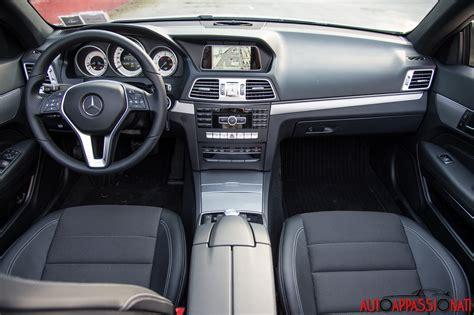 Mercedes Classe E Interni Mercedes Classe E Cabrio 220 Bluetec Prova Su