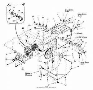 Mtd 31ae6c0f022  1999  Parts Diagram For Frame Assembly