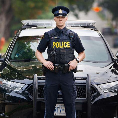ontarios finest men  uniform police police uniforms