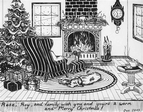 Christmas Themed Drawings