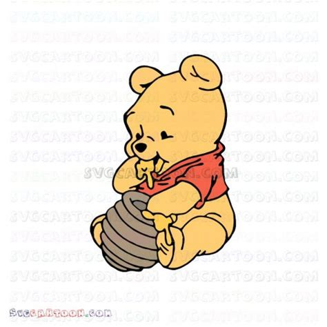 1600 x 1136 png 231 кб. Baby Pooh napping Winnie The Pooh svg dxf eps pdf png