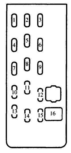 Mazda Protege Fuse Box Diagram Auto Genius