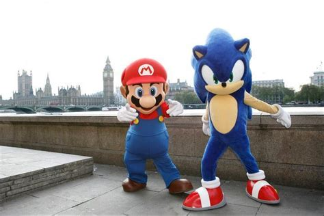 mario sonic   london  olympic games images