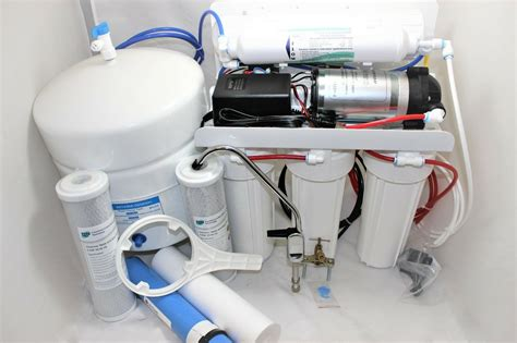 stage reverse osmosis system  gpd  booster pump