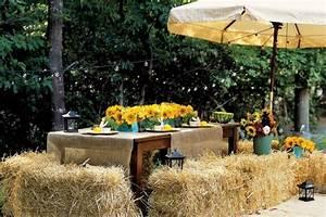 Tischdeko Geburtstag Rustikal : tischdeko mit sonnenblumen ber 50 sonnige vorschl ge ~ Watch28wear.com Haus und Dekorationen