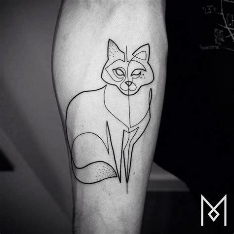 tatuagens de tracos simples  quem tem medo de