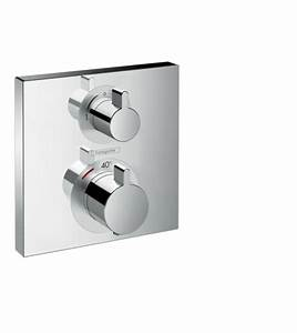 Hansgrohe Unterputz Thermostat : ecostat square brausearmaturen 2 verbraucher chrom 15714000 ~ Watch28wear.com Haus und Dekorationen