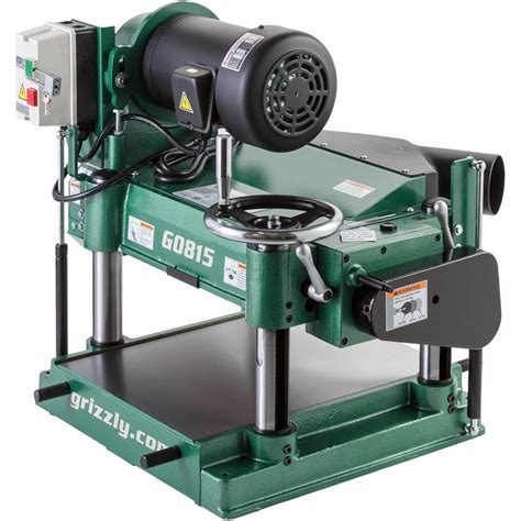 grizzly    hp heavy duty planer  magnum tools