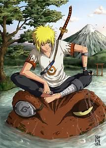 Minato Namikaze (NAU) | Naruto Fanon Wiki | Fandom powered ...  Minato
