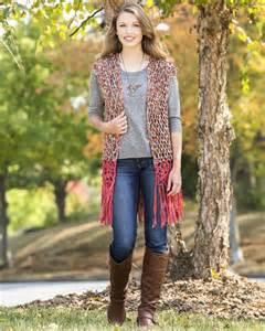 Free Long Vest Crochet Pattern Circle