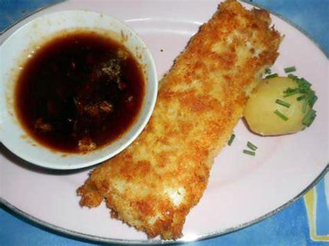 cuisiner du dos de cabillaud recette de dos de cabillaud a la panure japonaise sauce