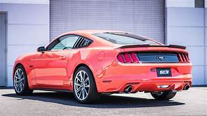 Best Exhaust - Borla Ford Mustang EcoBoost / V6 2015-on Axle-Back S-Type coupe 11889