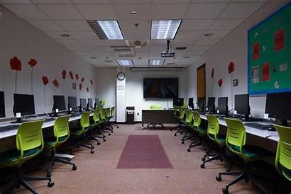 Computer Covid Labs Empty Rutgers University Lab