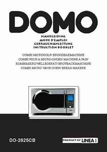 Domo Do 2625 Cb Microwave Oven Download Manual For Free