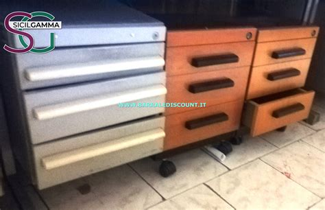Cassettiere Ufficio by Cassettiere Ufficio 3045 Barrale Discount