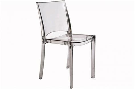 lot de 2 chaises transparente chaises design pas cher