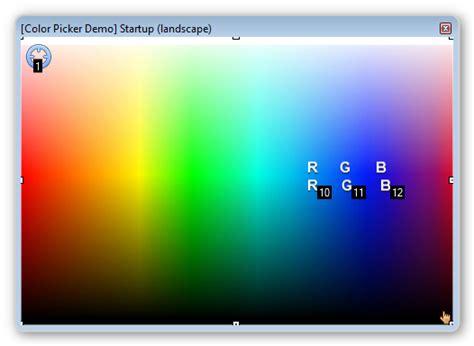 color picker module commandfusion wiki