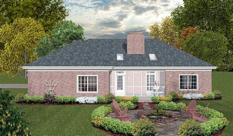 house plan  traditional style   sq ft  bed  bath