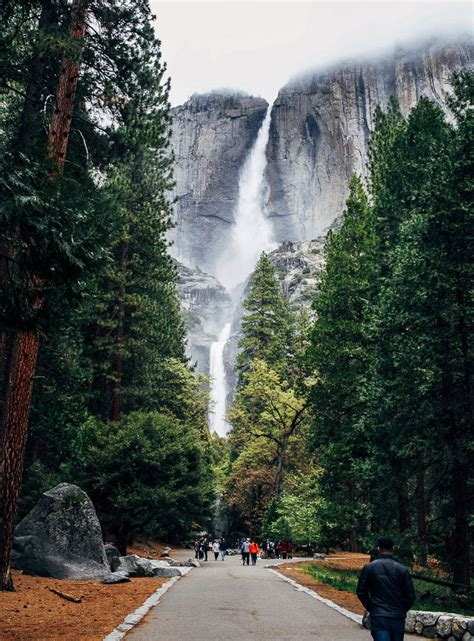 Hiking Mist Trail Yosemite Making Thyme For Health