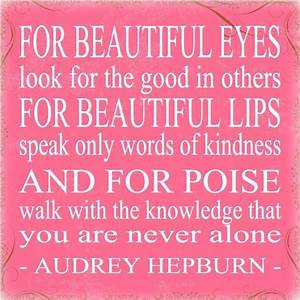 Audrey Hepburn | Things to live by | Pinterest | Audrey ...