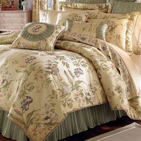 iris floral comforter bedding by croscill floral