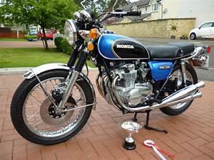Restored Honda 550 Four