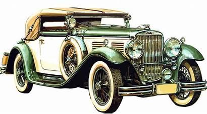 Classic Vehicle Antique Luxury Transport Transparent Cars