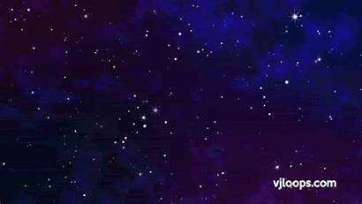 Loop Space Stars Animation Background Galaxy Powerpoint