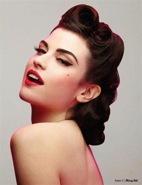 Vintage Look to Glam: Swirl Hair Designs - Pretty Designs