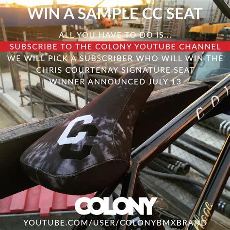 colony bmx news