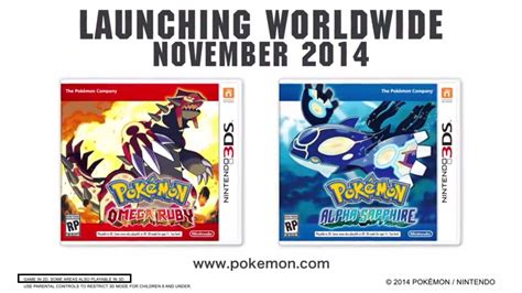 Pokemon Omega Rubyalpha Sapphire Will Have Limited 3d