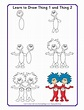 Learn to Draw Dr. Seuss Characters   The Lorax ...