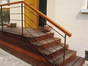Rampe Pour Escalier : rampe alu brico depot support de rampe aluminium brico d p t garde corps bois brico depot ~ Melissatoandfro.com Idées de Décoration
