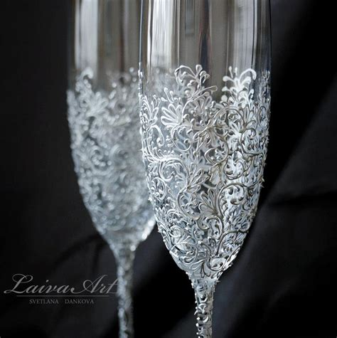 wedding champagne flutes wedding champagne glasses wedding