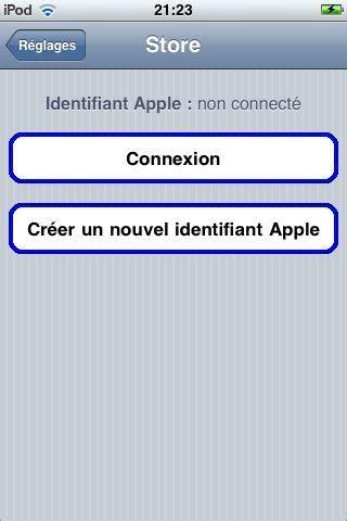 iphone facile changer de compte itunes depuis l iphone