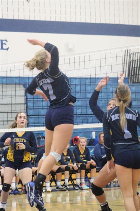 richmond high school girls varsity volleyball fall photo gallery