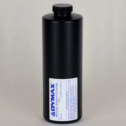 uv curing l dymax multi cure 6 621 uv curing adhesive clear 1 l bottle