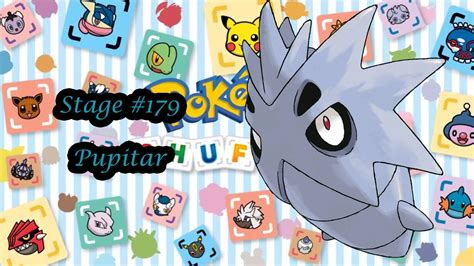 pokemon shuffle mobile stage  pupitar youtube