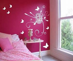 Teen room designs amazing wall painting ideas for girls