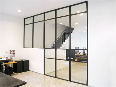 Bauhaus Style Home With Interior Glass Walls by Miss Architect Interior Design And Architecture