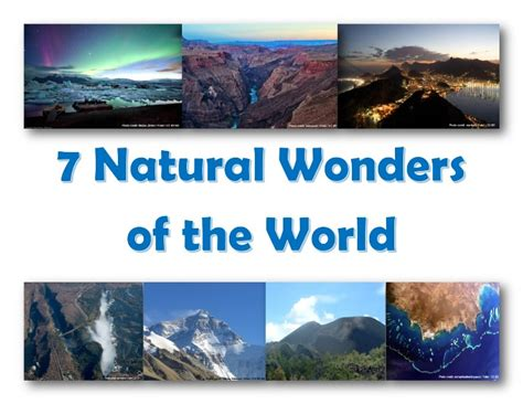 the 7 most wonders of the world