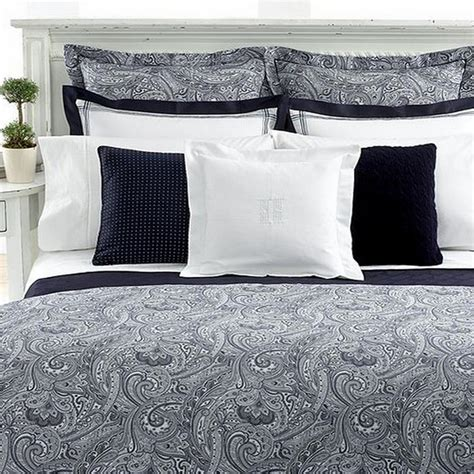 ralph paisley bedding ralph suite paisley navy 383t king comforter ebay