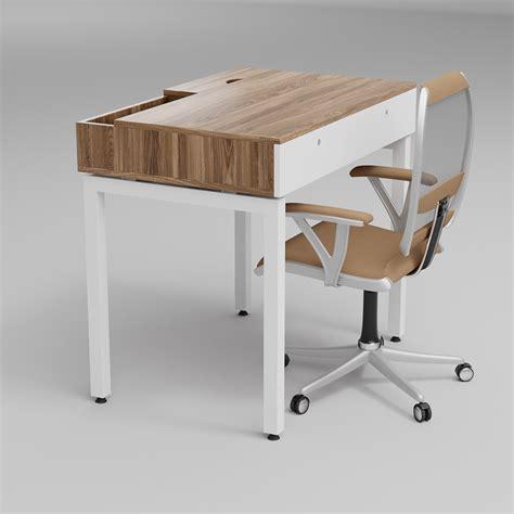full edge drawer table desqoo