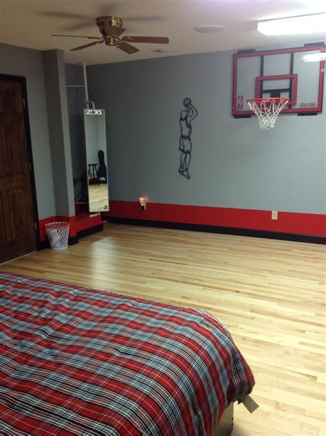 Basketball Bedroom Decor by Basketball Theme Room E S Room In 2019 Boys